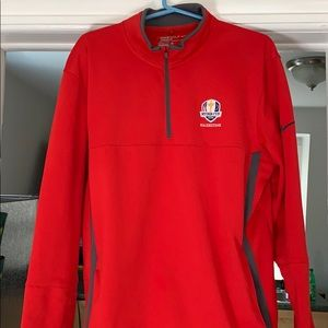 2016 Rider Cup Nike pullover